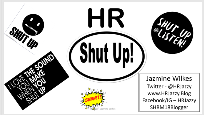 HR Shut Up Photo
